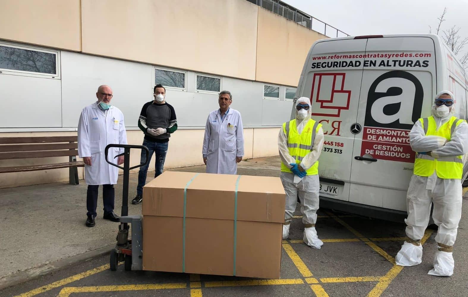 Decenas de empresas riojanas colaboran en la producción de material sanitario en la lucha contra el coronavirus 1