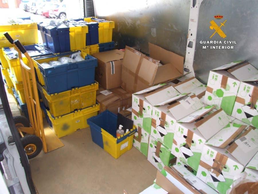 Los administradores de una empresa riojana, detenidos por especular con productos contra el coronavirus 2
