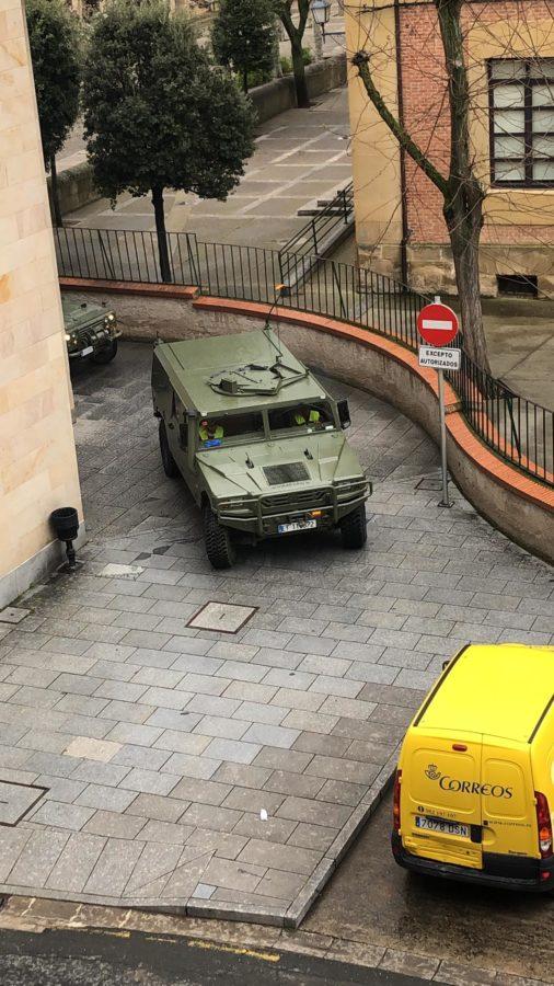 El Ejército refuerza la vigilancia en Haro y La Rioja Alta 6
