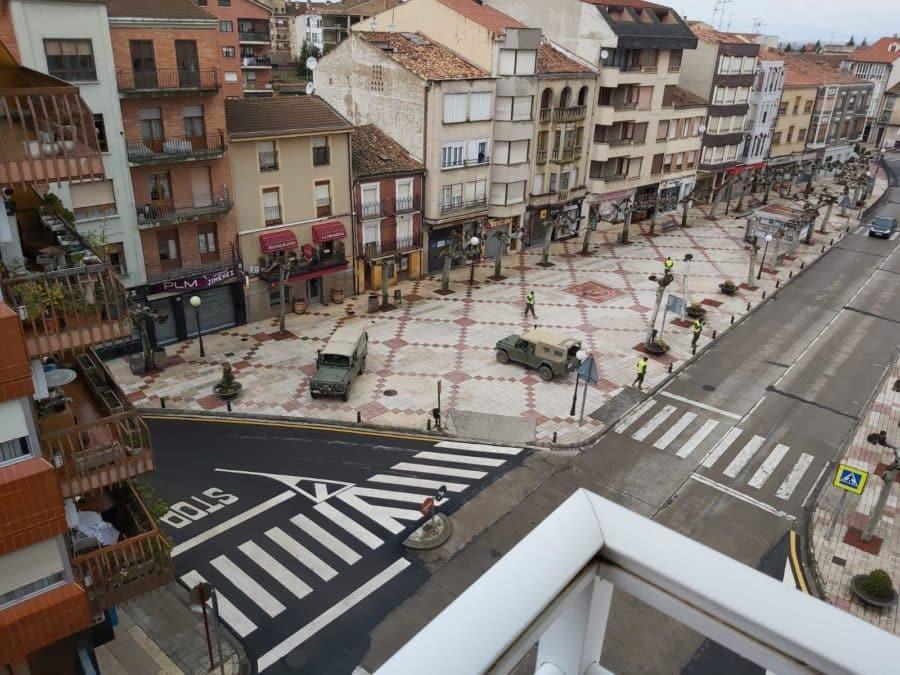 El Ejército refuerza la vigilancia en Haro y La Rioja Alta 7