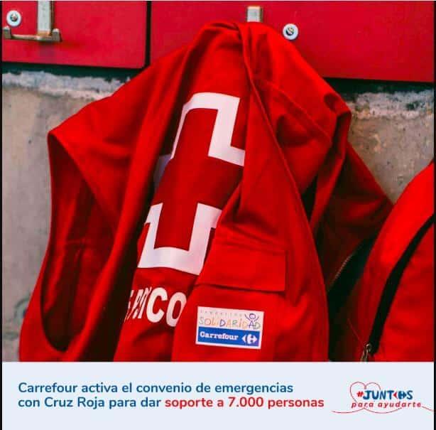 Carrefour y Cruz Roja activan su 'Dispositivo de Respuesta Inmediata en Emergencias' ante la crisis del Covid-19 1