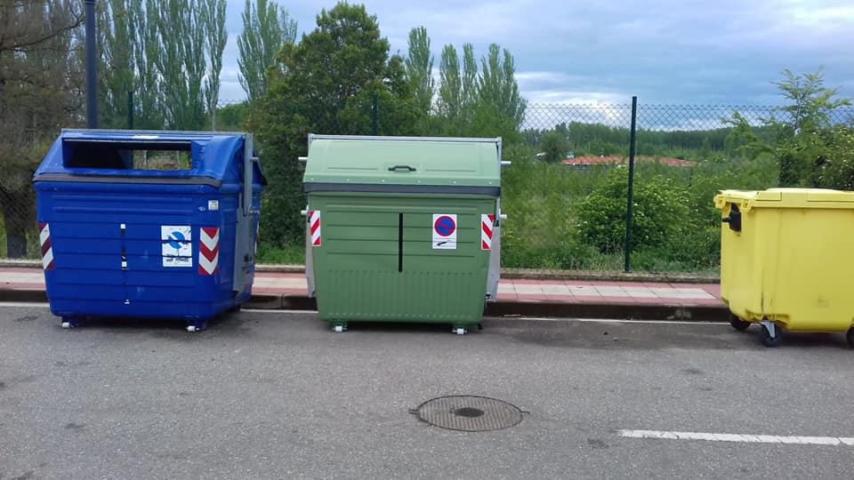 Anguciana renueva más de 70 contenedores de recogida de residuos 1