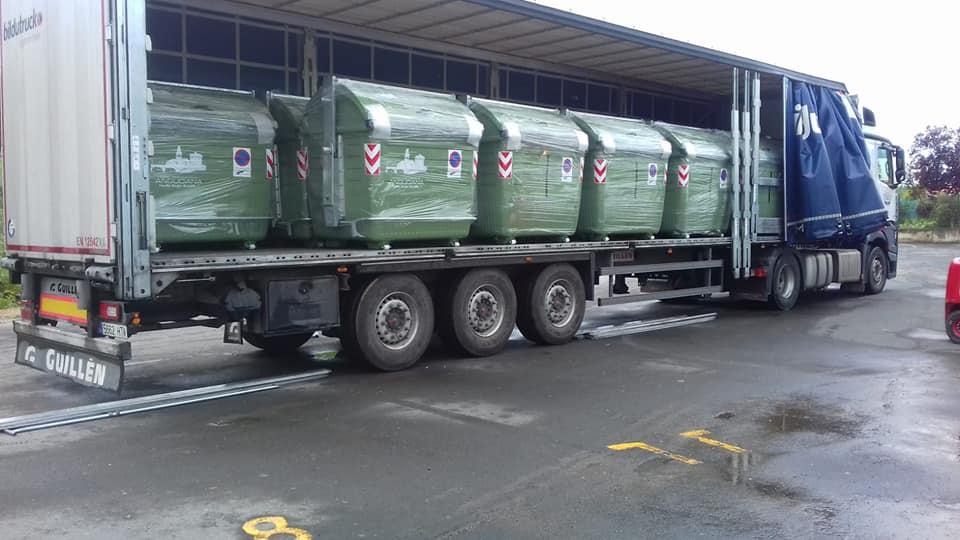 Anguciana renueva más de 70 contenedores de recogida de residuos 4