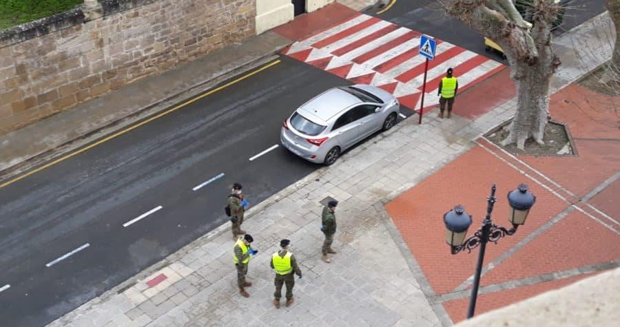 El Ejército refuerza la vigilancia en Haro y La Rioja Alta 2
