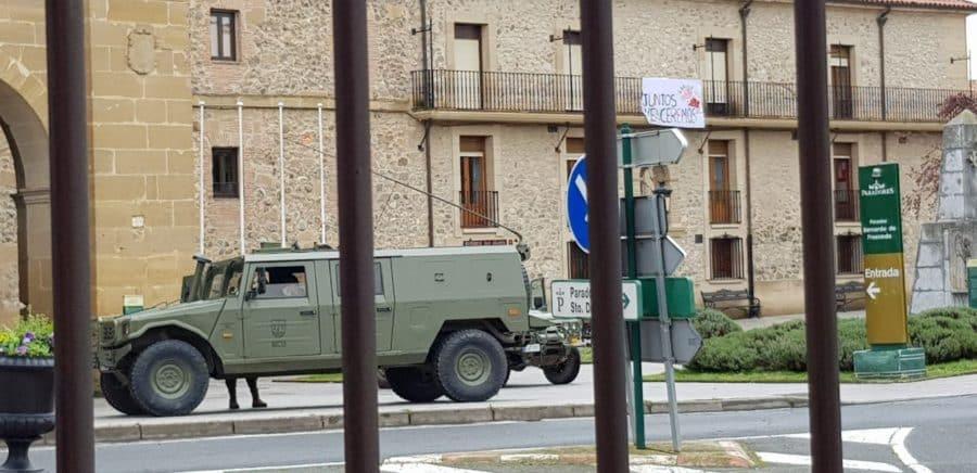 El Ejército refuerza la vigilancia en Haro y La Rioja Alta 3