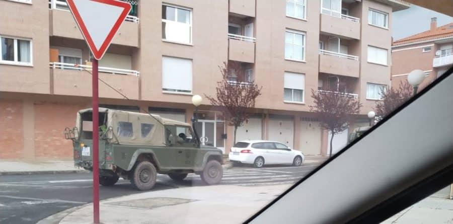 El Ejército refuerza la vigilancia en Haro y La Rioja Alta 4
