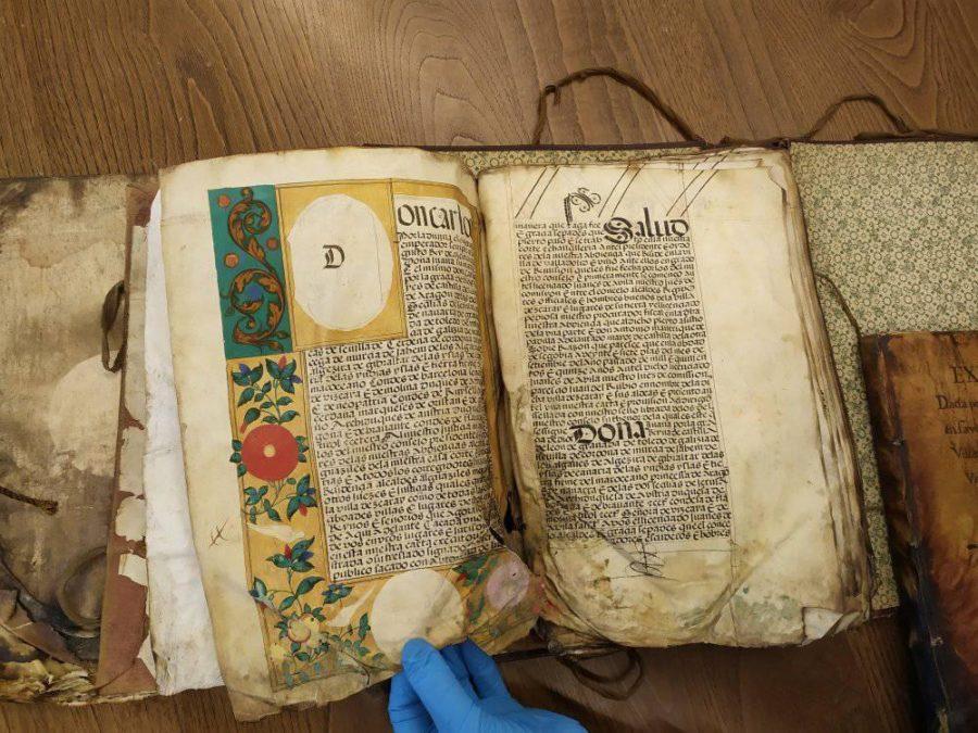 Ezcaray recupera tres documentos históricos de su fuero 1