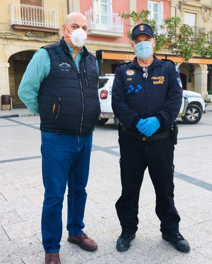 El Ayuntamiento de Haro distribuye 25.000 mascarillas entre sus empadronados 4