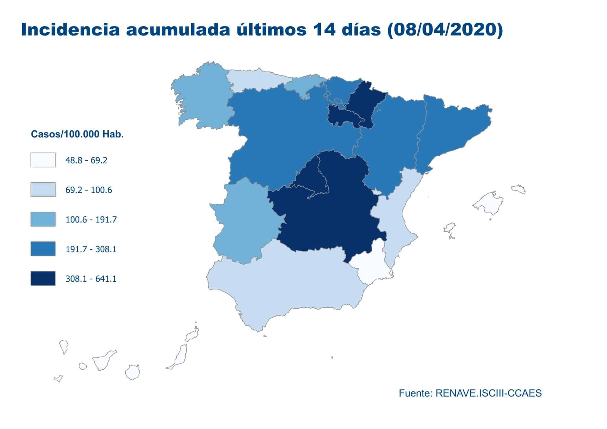 La Rioja supera los 3.000 casos acumulados y registra cinco nuevos fallecimientos por coronavirus 6