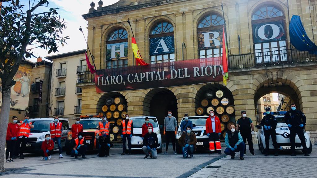 El Ayuntamiento de Haro distribuye 25.000 mascarillas entre sus empadronados 2