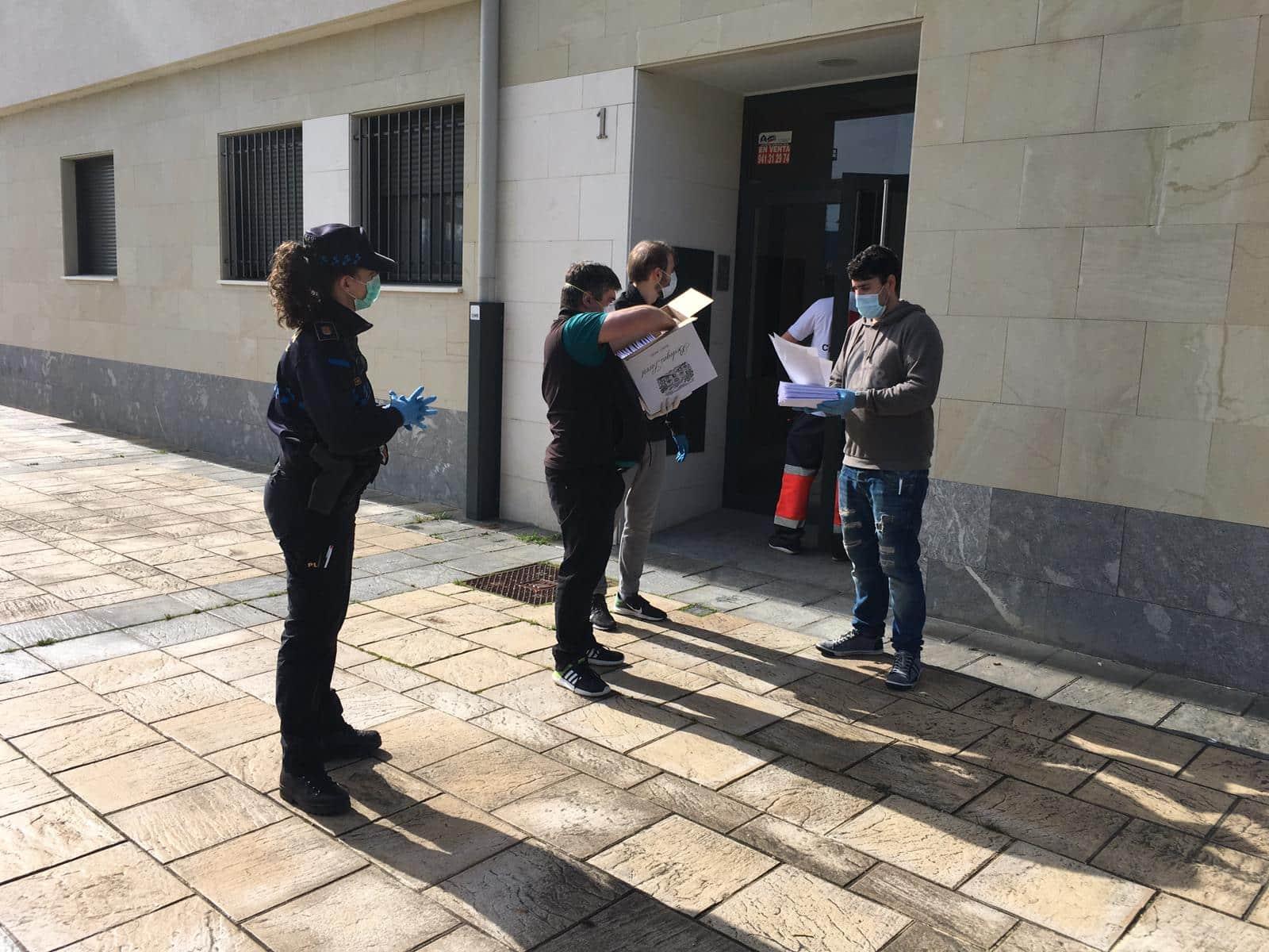El Ayuntamiento de Haro distribuye 25.000 mascarillas entre sus empadronados 3