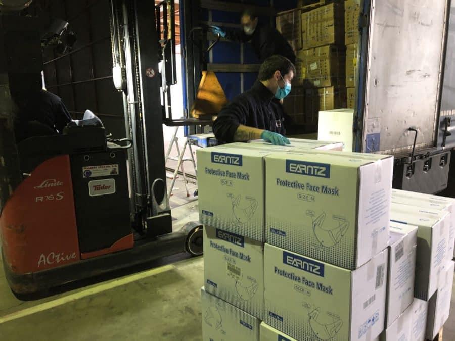 La Rioja recibe más de 600.000 nuevas unidades de material contra el coronavirus 2