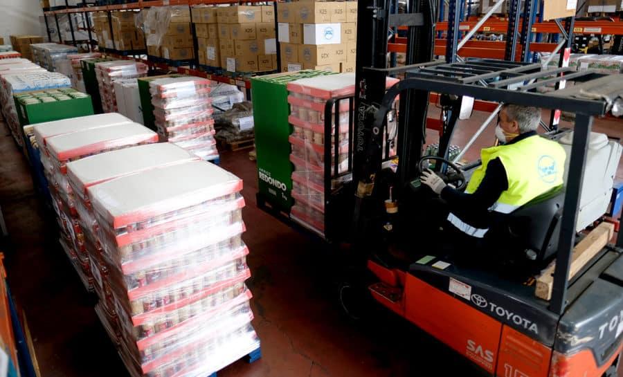 Mercadona dona 43.750 kilos de productos de primera necesidad al Banco de Alimentos y a comedores sociales de La Rioja 1