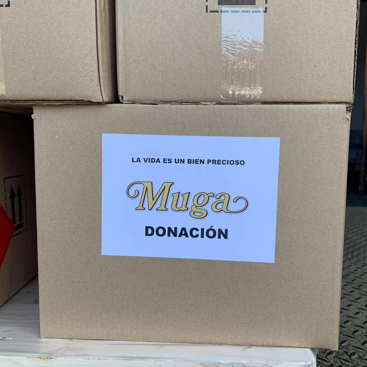 El Club de los 300 de Bodegas Muga dona material contra el coronavirus 1