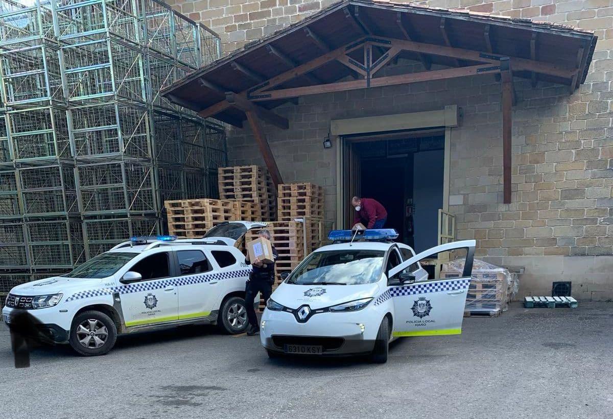 El Club de los 300 de Bodegas Muga dona material contra el coronavirus 2