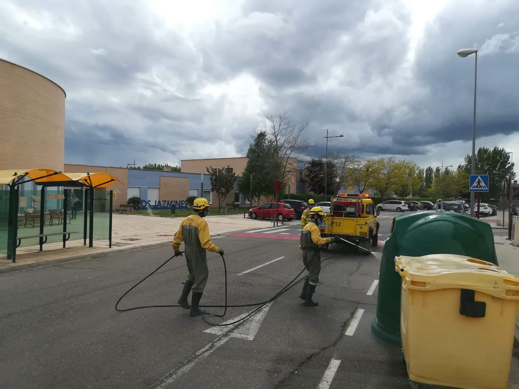 El Gobierno riojano se reúne con los bomberos forestales para conocer sus principales peticiones 1