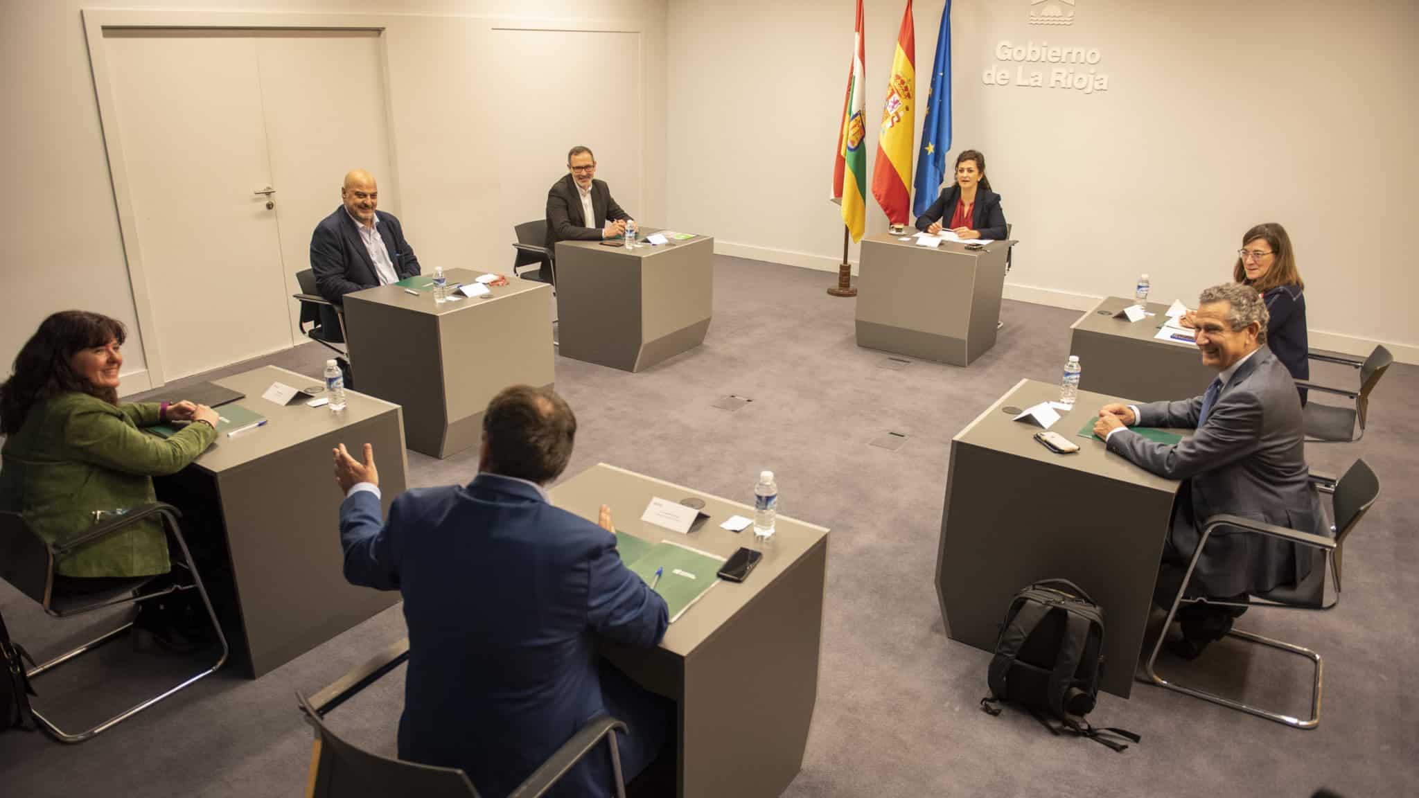 El Partido Riojano se pone a disposición del Gobierno para un pacto regional 2