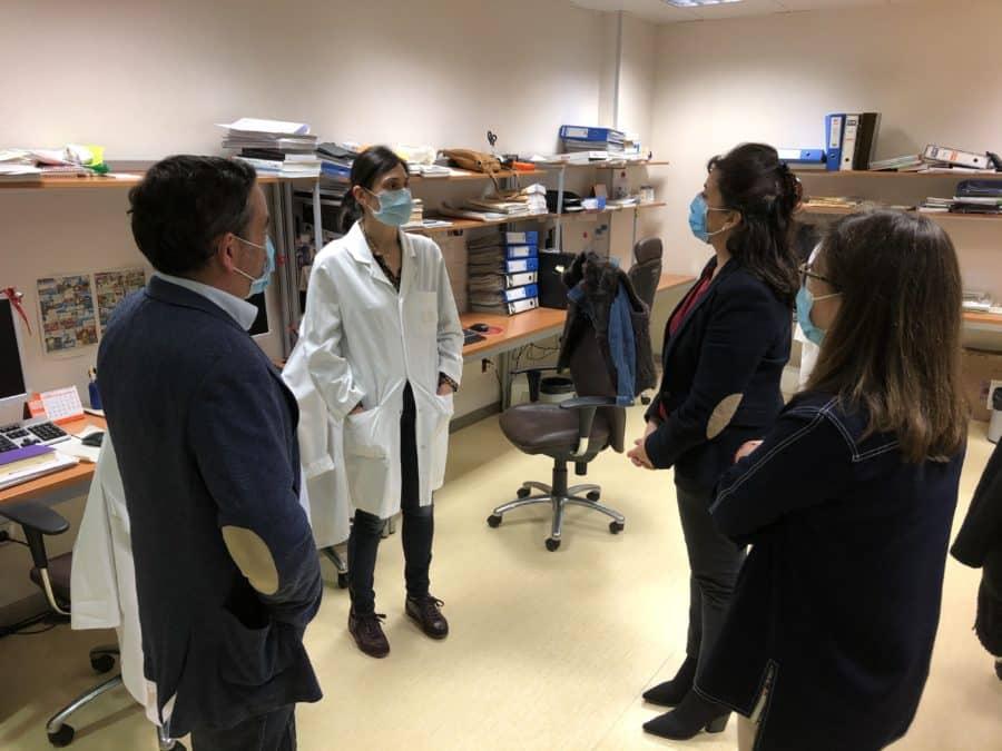 El CIBIR muestra a Andreu los proyectos de investigación ya en marcha para luchar contra el COVID-19 4