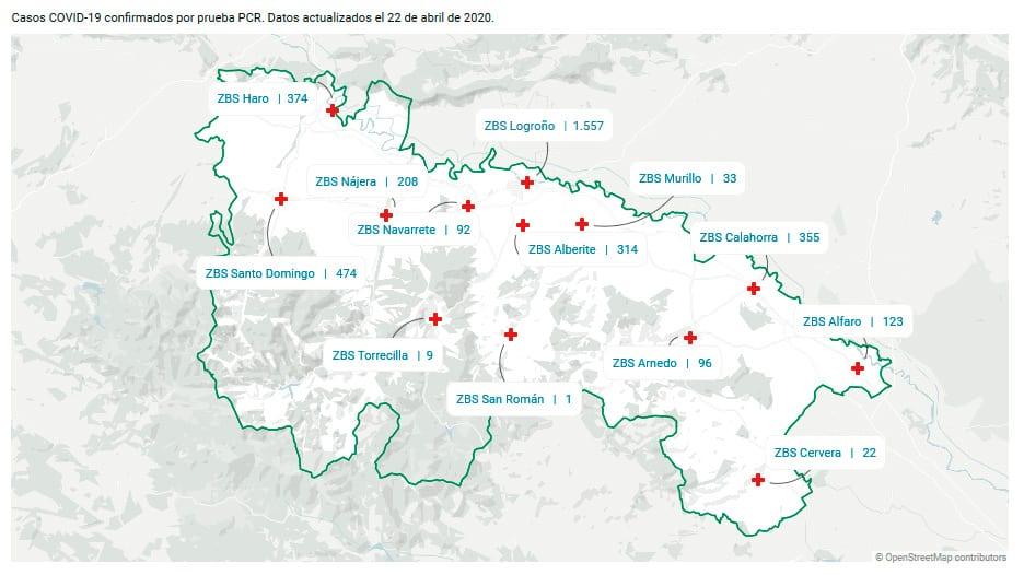 Suben los casos confirmados por coronavirus en las zonas básicas de Haro, Santo Domingo y Nájera 1