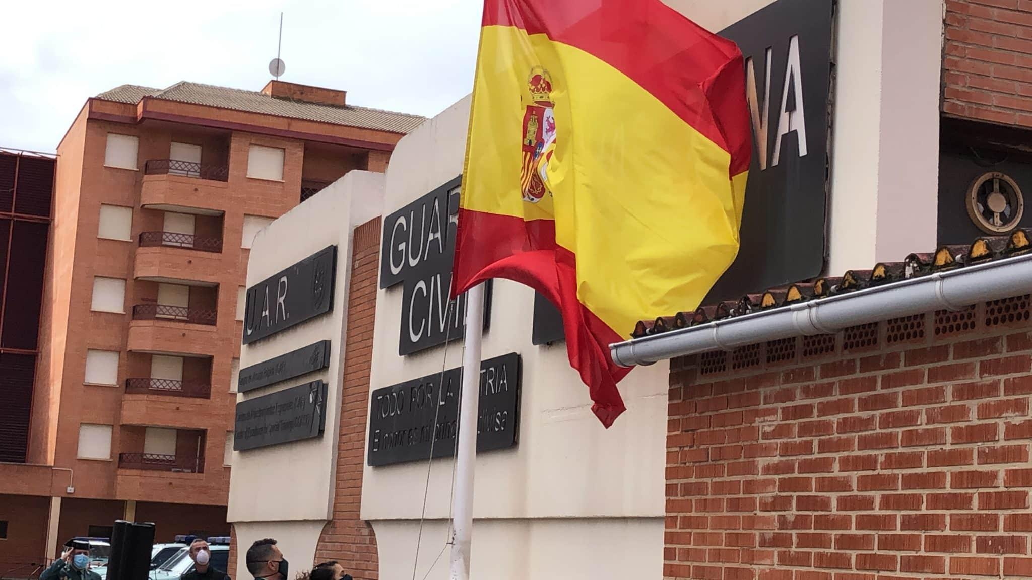 La Guardia Civil celebra en La Rioja de manera simbólica el 176º aniversario de su fundación 1