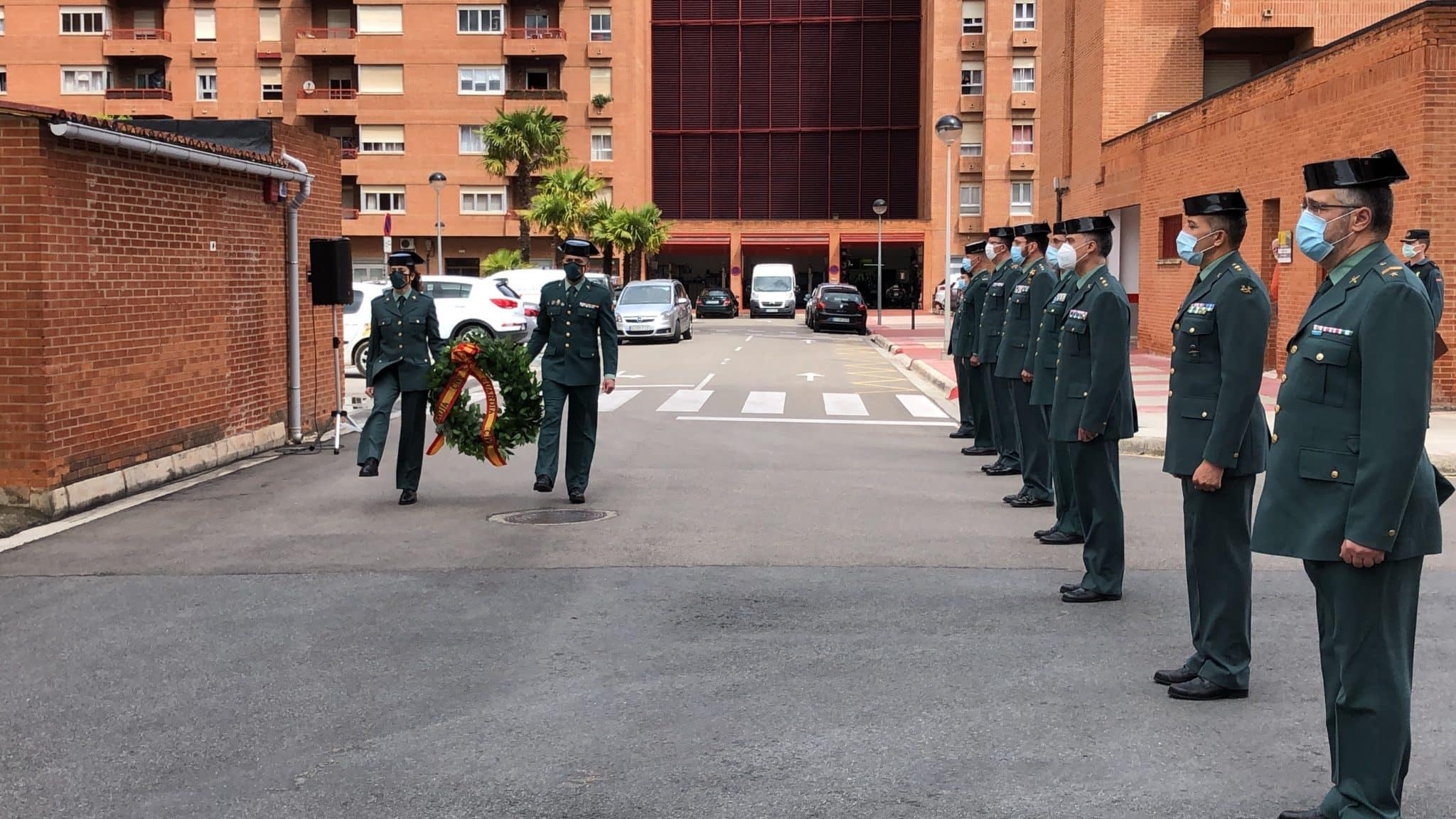 La Guardia Civil celebra en La Rioja de manera simbólica el 176º aniversario de su fundación 2