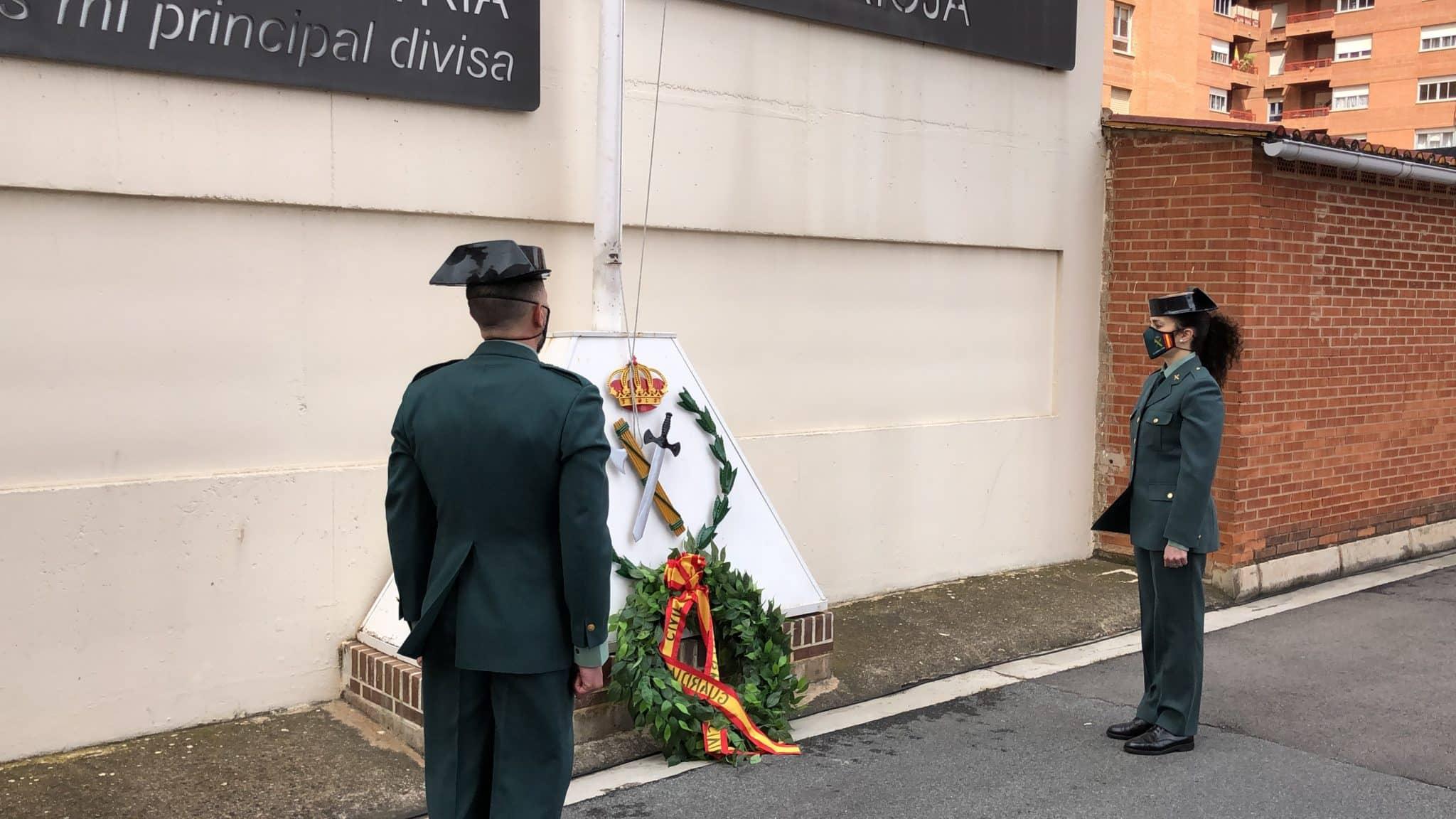 La Guardia Civil celebra en La Rioja de manera simbólica el 176º aniversario de su fundación 3