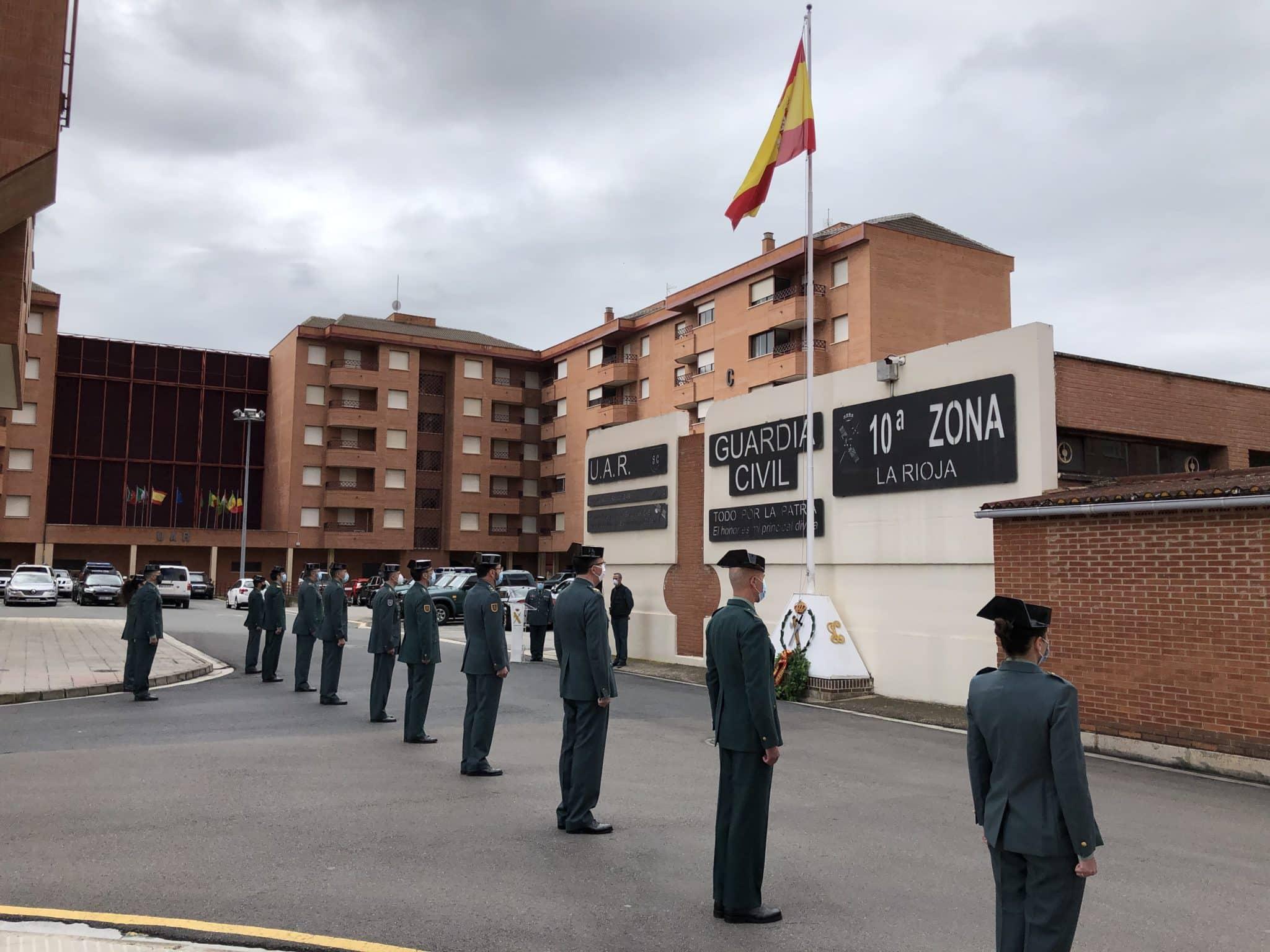 La Guardia Civil celebra en La Rioja de manera simbólica el 176º aniversario de su fundación 4