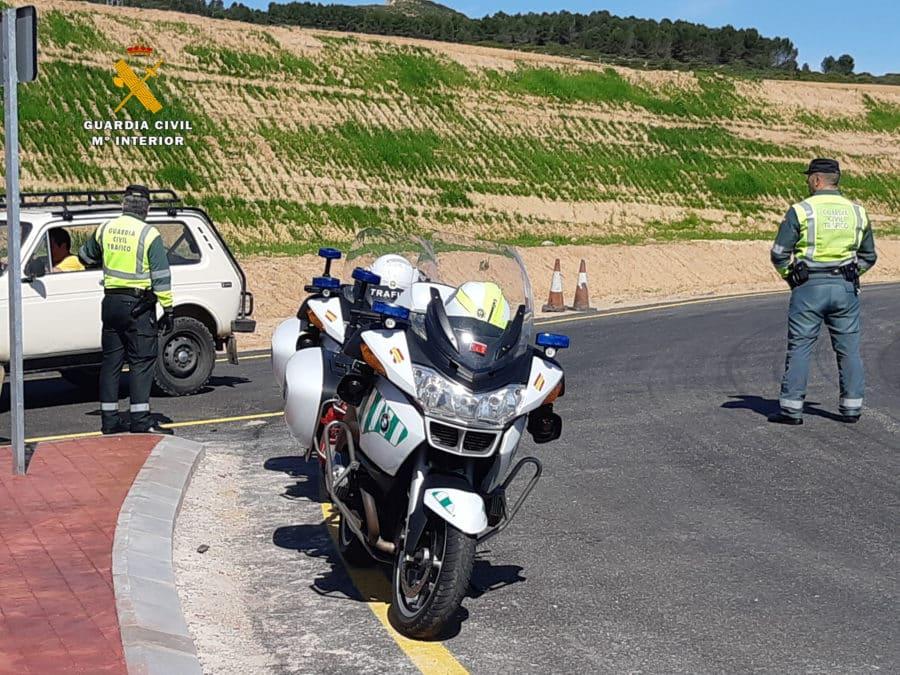 Detenidas dos personas en Alesón por colocar clavos en la carretera para provocar accidentes de tráfico 10