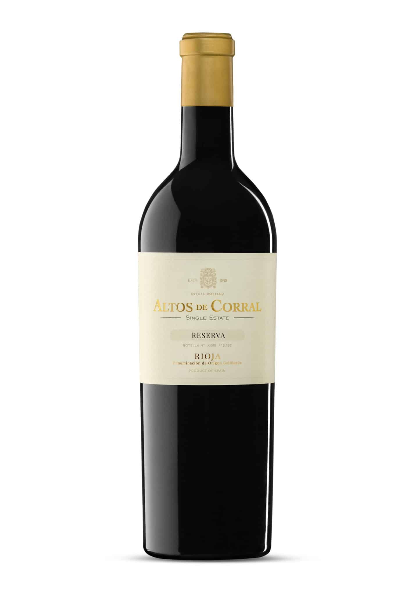 Altos de Corral, el vino ecológico de la bodega de Navarrete, cambia de imagen 2