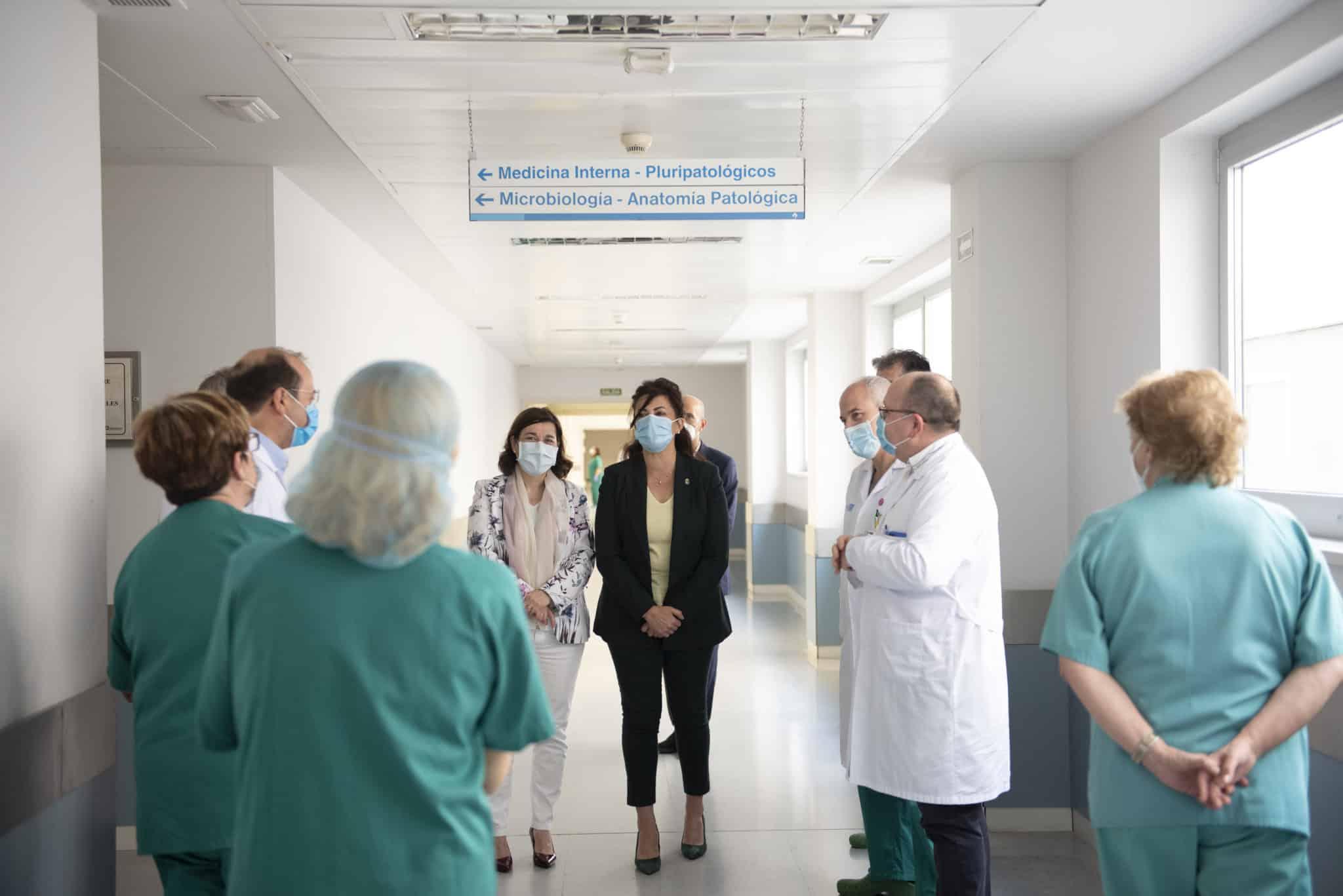 En funcionamiento la nueva Área Polivalente de pacientes críticos del Hospital San Pedro 2