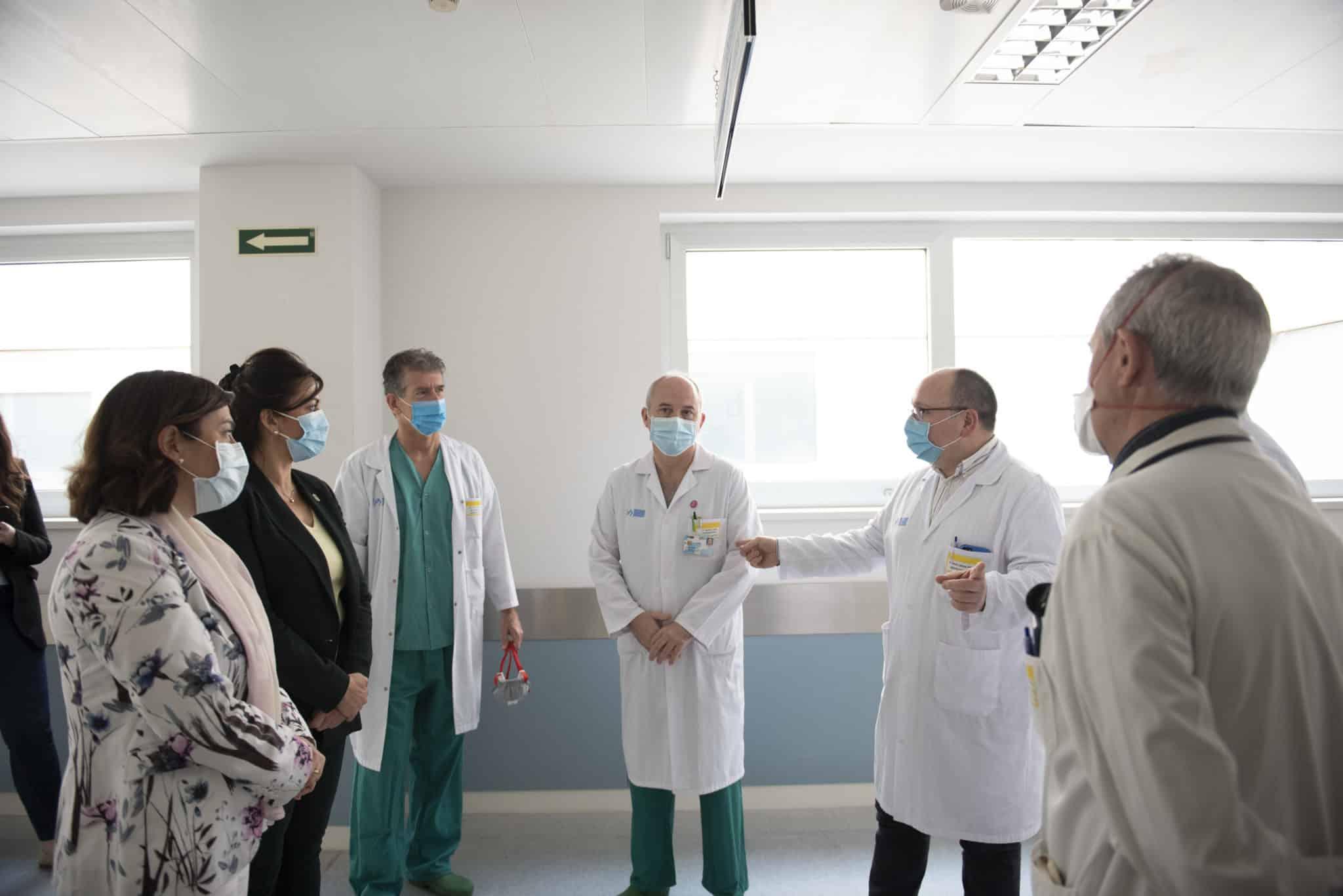 En funcionamiento la nueva Área Polivalente de pacientes críticos del Hospital San Pedro 1