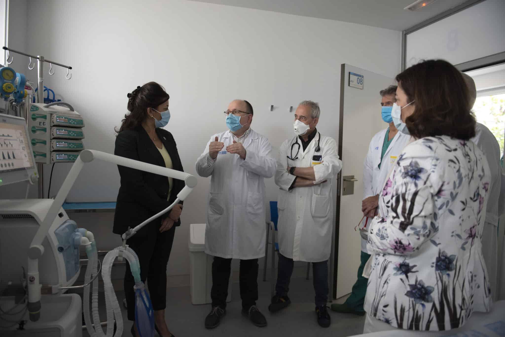 En funcionamiento la nueva Área Polivalente de pacientes críticos del Hospital San Pedro 3