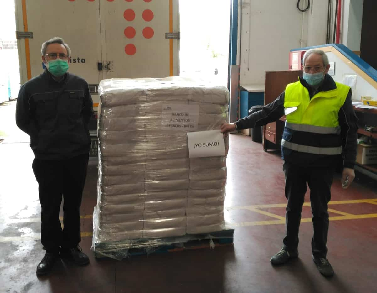 El Banco de Alimentos de La Rioja ha entregado 192.644 kilos de alimentos desde el inicio del confinamiento 1