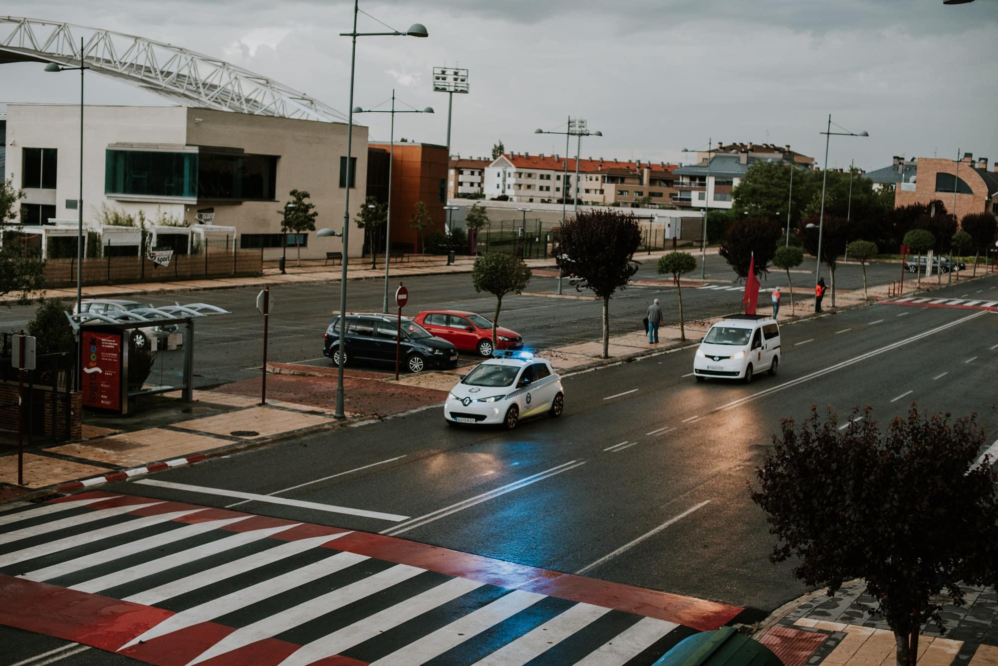 FOTOS: Haro homenajea a los héroes del coronavirus con una 'caravana solidaria' 2