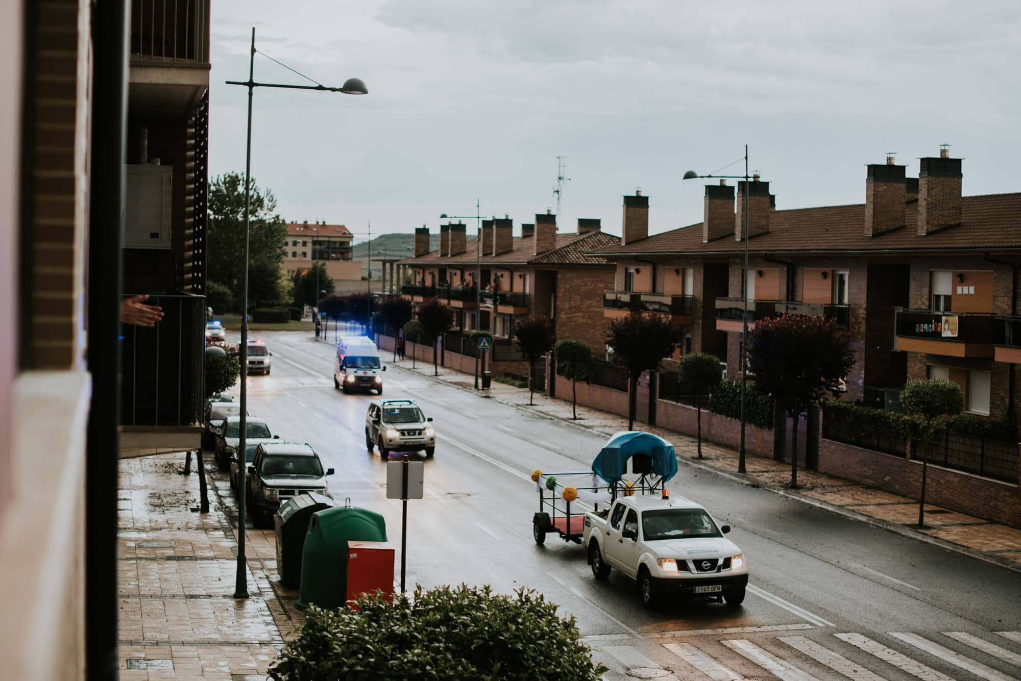 FOTOS: Haro homenajea a los héroes del coronavirus con una 'caravana solidaria' 19