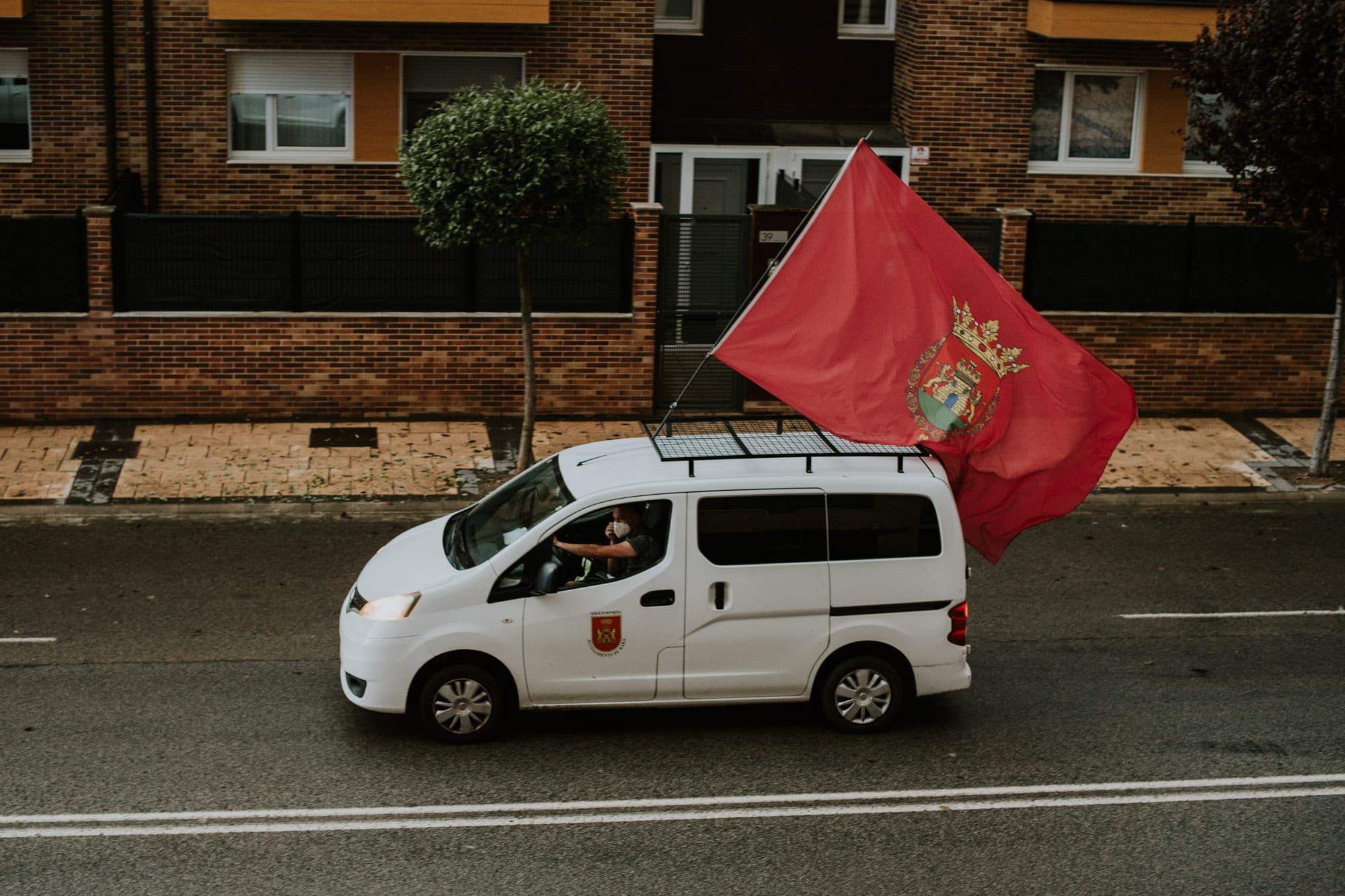 FOTOS: Haro homenajea a los héroes del coronavirus con una 'caravana solidaria' 4