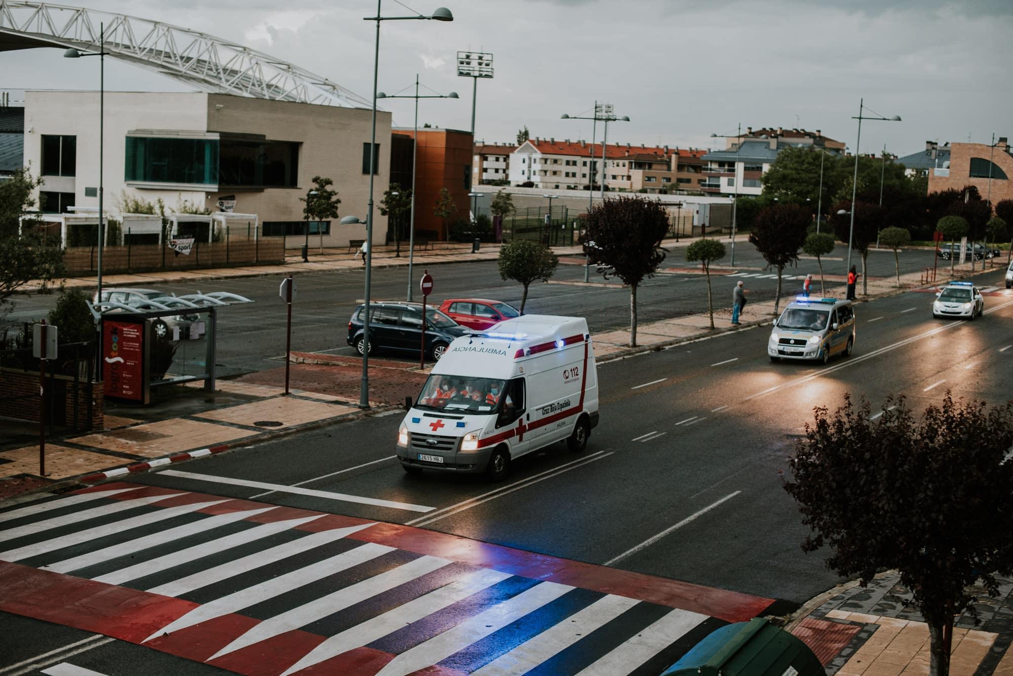 FOTOS: Haro homenajea a los héroes del coronavirus con una 'caravana solidaria' 8