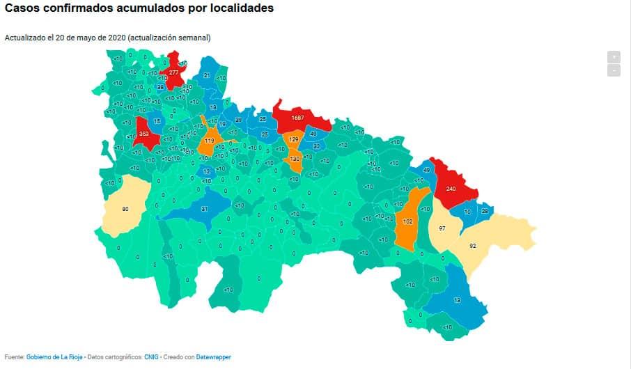 Santo Domingo y Haro acumulan 630 casos confirmados de coronavirus 1