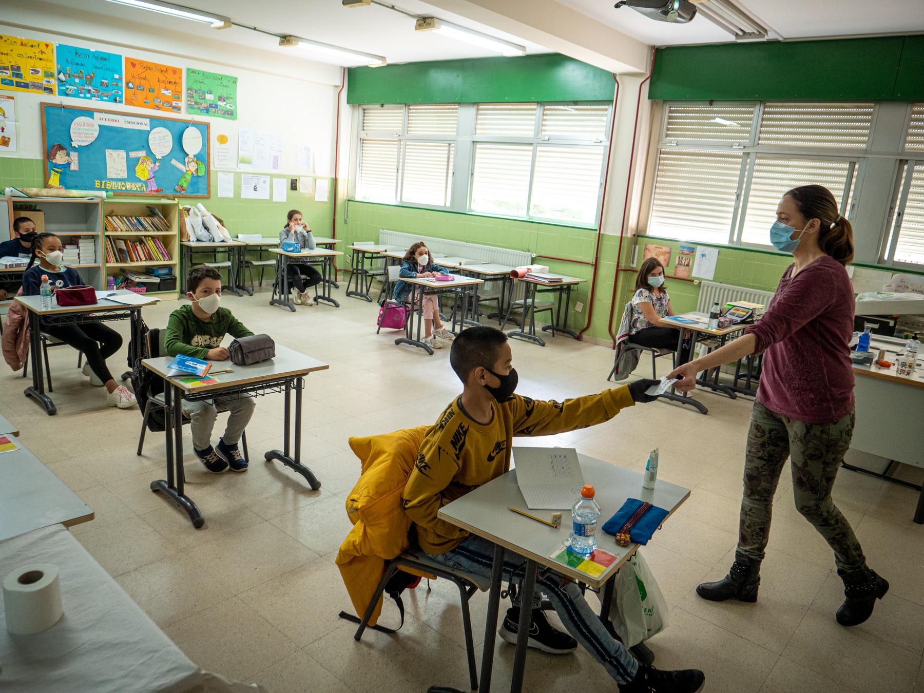 """347 alumnos regresan a las aulas en La Rioja de forma """"voluntaria"""" y por """"prescripción pedagógica"""" 1"""