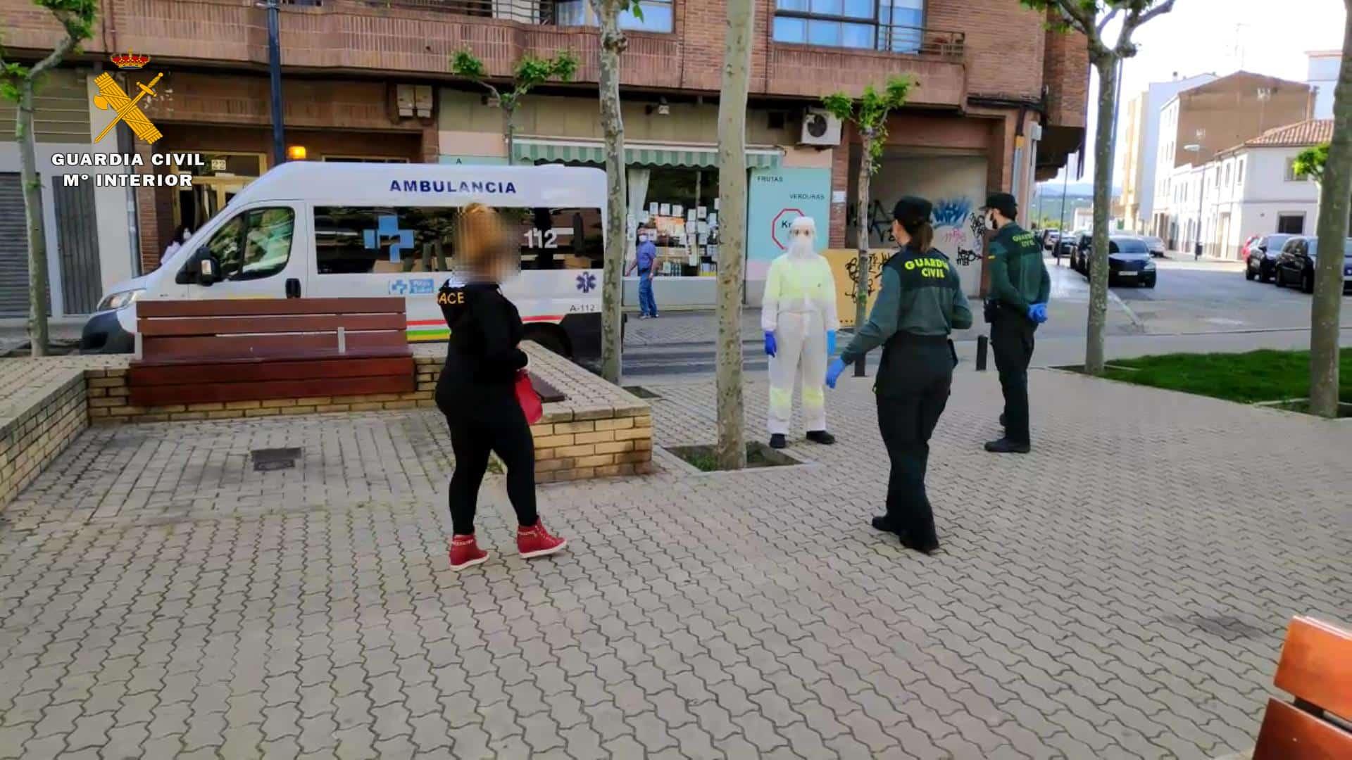 Una mujer con síntomas de coronavirus se fuga de un centro de salud en La Rioja 2