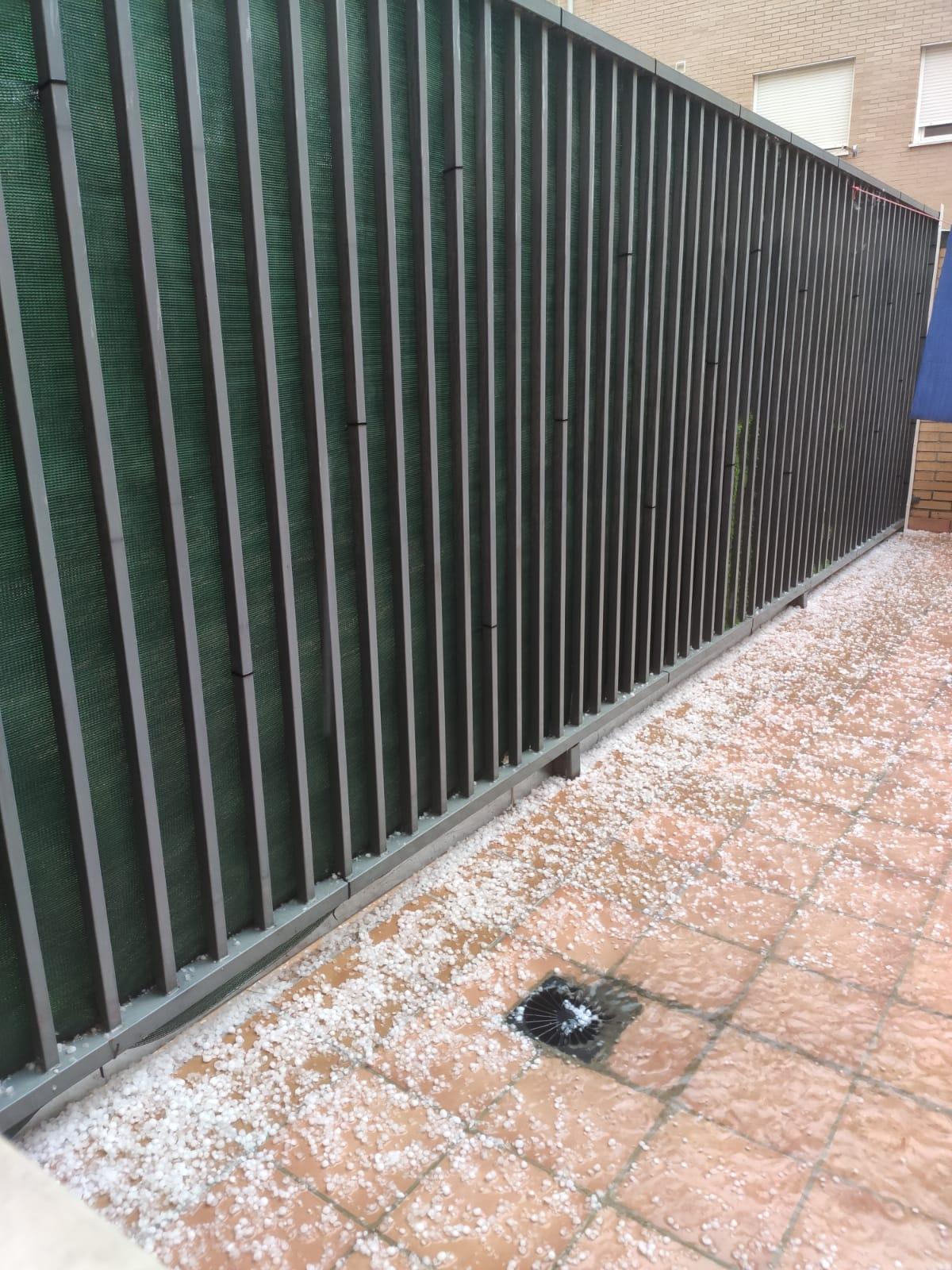 Violenta tormenta con granizo sobre la comarca de Haro 4