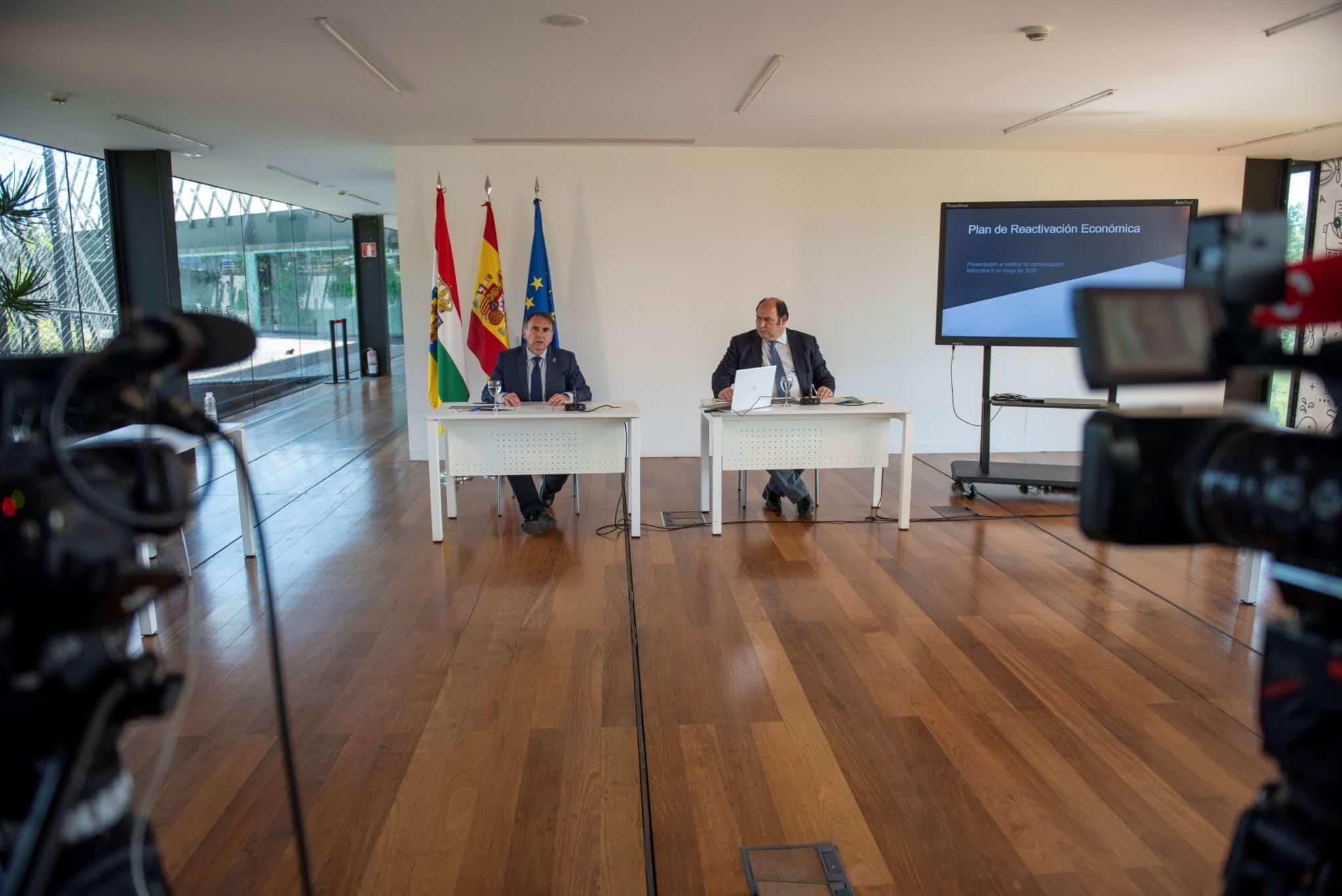 La Rioja destina 34,4 millones de euros al Plan de Reactivación Económica frente al coronavirus 1