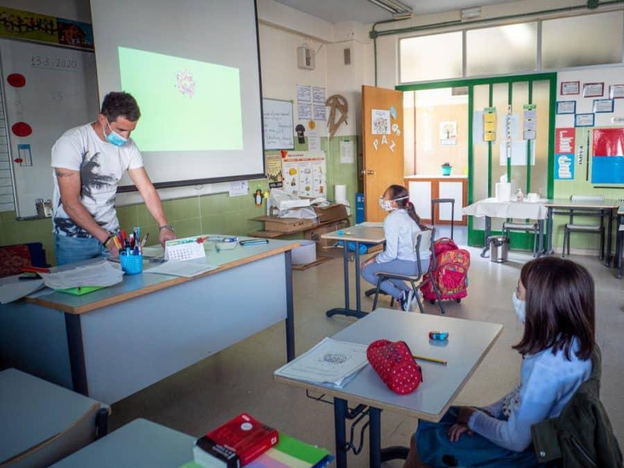 """347 alumnos regresan a las aulas en La Rioja de forma """"voluntaria"""" y por """"prescripción pedagógica"""" 2"""