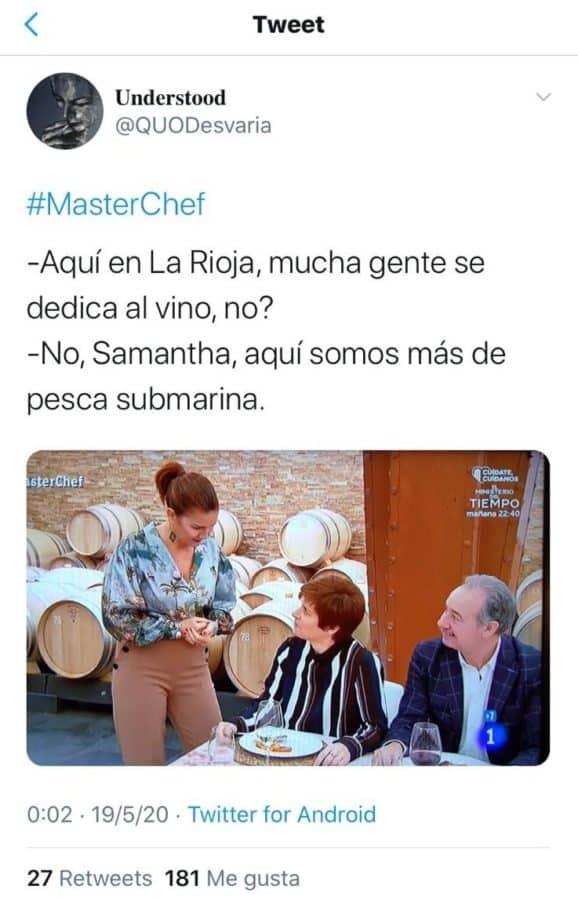 """Malestar en Briones con MasterChef: """"Ni nombrar el pueblo, qué vergüenza"""" 1"""