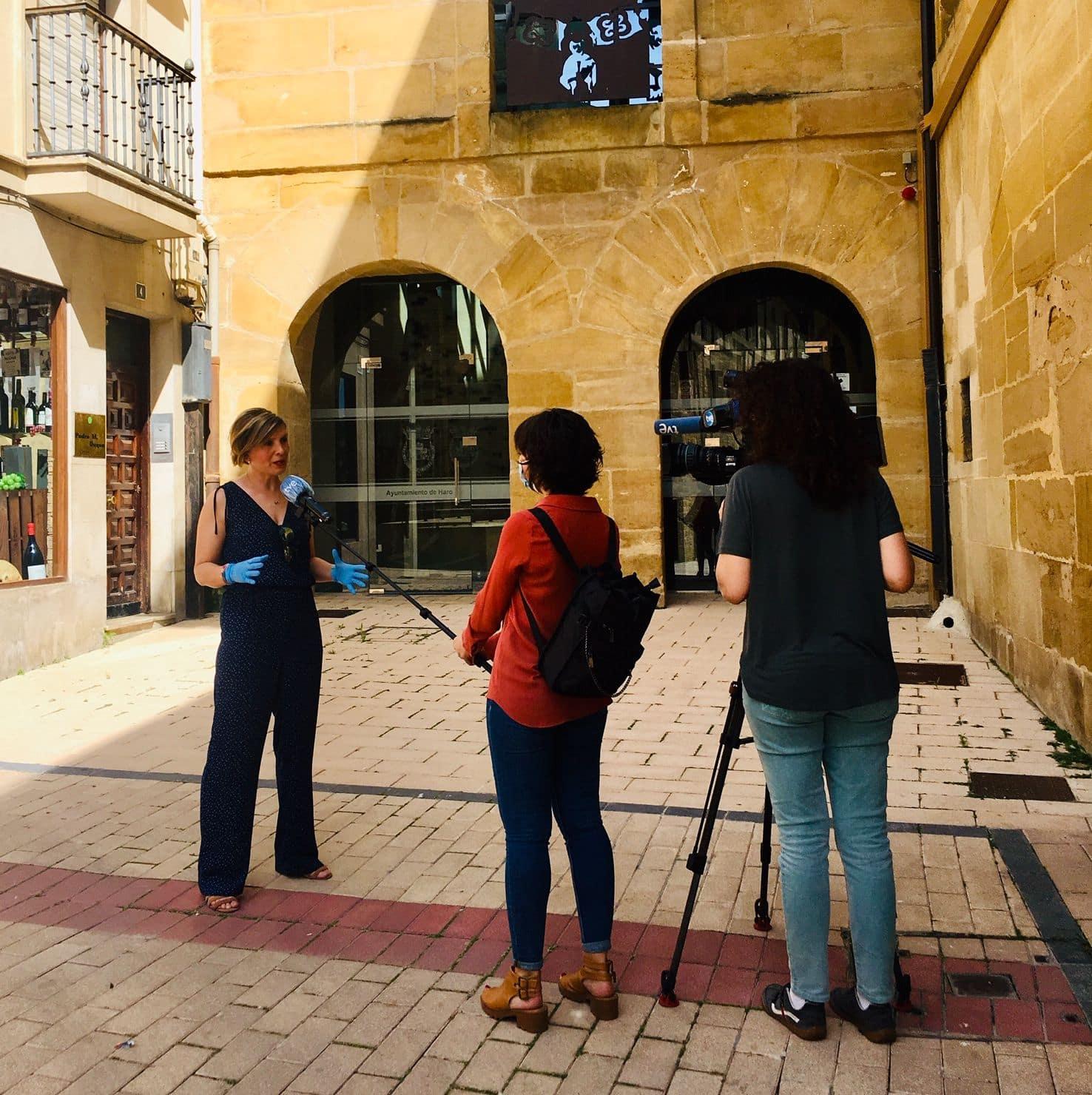 El Ayuntamiento de Haro presenta en TVE los detalles de la campaña 'Lo Mejor de Haro' 1