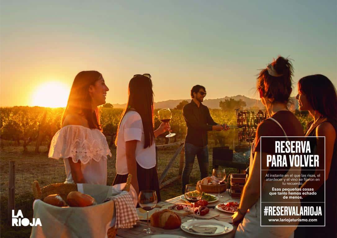 VÍDEO: La Rioja presenta la campaña turística 'Reserva para volver', una invitación a redescubrir la región 1