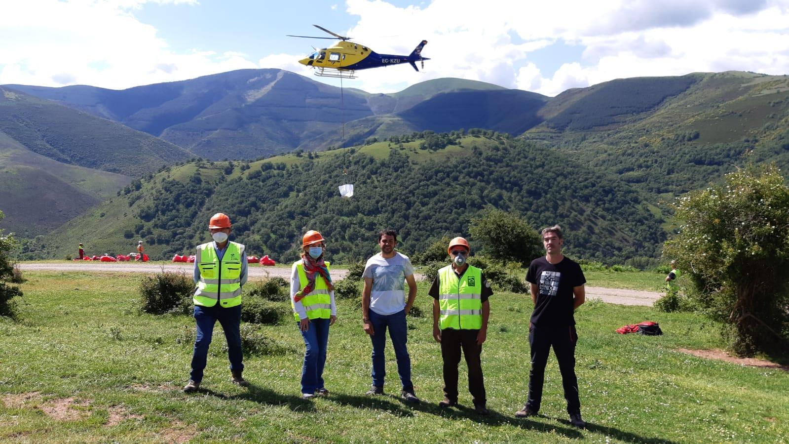 La Rioja inicia la construcción de un abrevadero para el ganado en Ventrosa 1