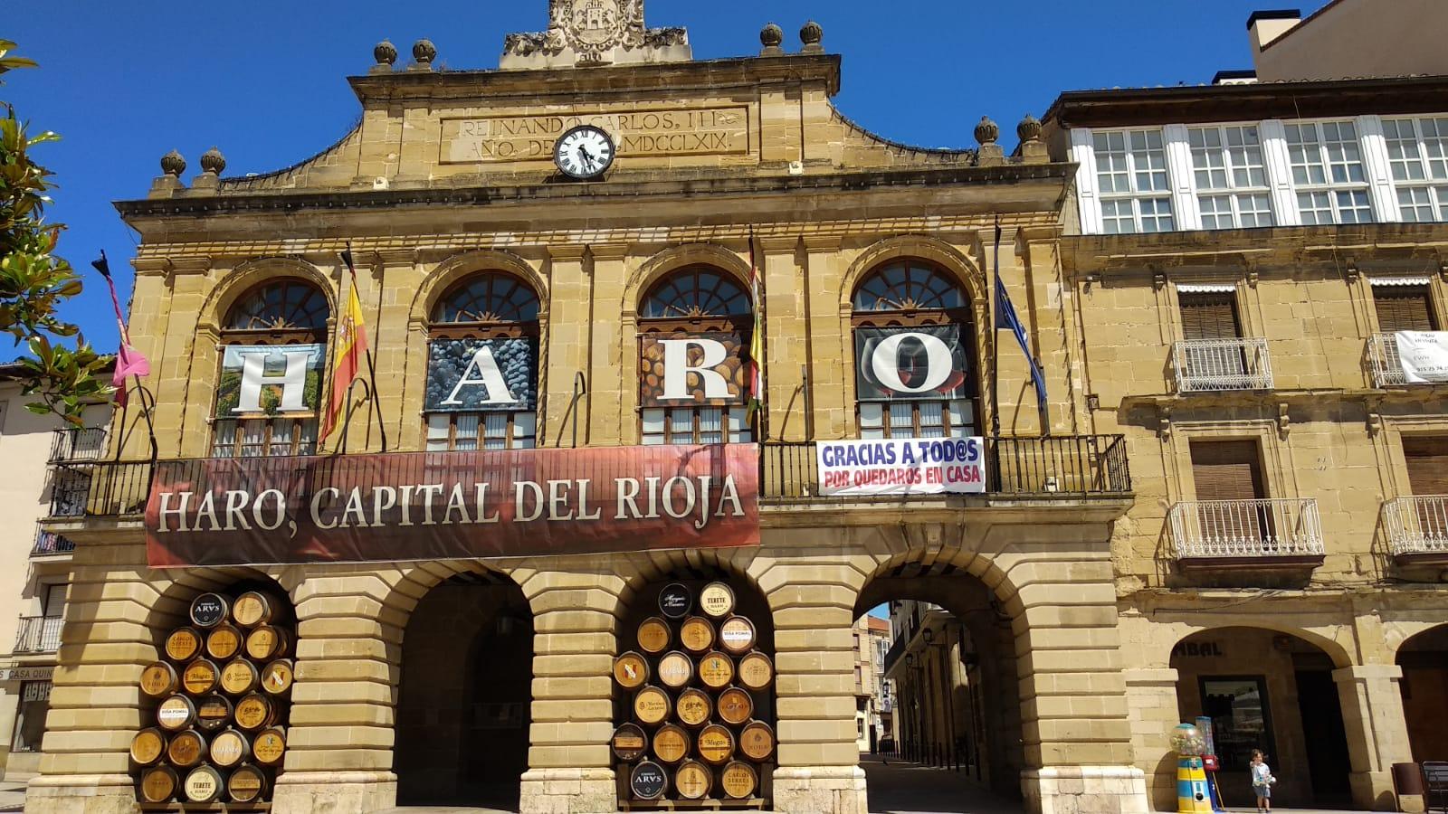 El Ayuntamiento de Haro abre sus dependencias al público con ciertas restricciones 1