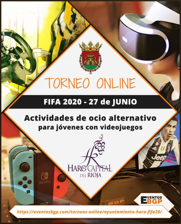 Haro abre las inscripciones de los torneos online de las fiestas de junio 1