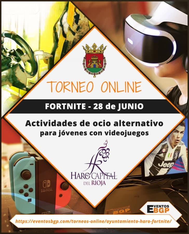 Haro abre las inscripciones de los torneos online de las fiestas de junio 2